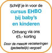 Cursus EHBO bij zuigelingen en kinderen Breda